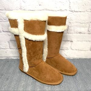 NEW Womens Rampage Puffen furry boots